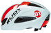 Rudy Project Boost 01 Helme White-Red Fluo (Shiny)